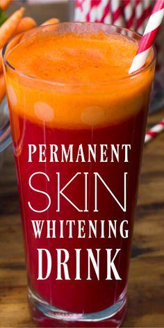 A miracle juice for skin Permanent Skin Whitening Drink. A Miracle Juice For SkinPermanent Skin Whitening Drink. A Miracle Juice For Skin Natural Skin Whitening, Natural Skin Care, Natural Beauty, Natural Glow, Teeth Whitening, Beauty Care, Beauty Skin, Beauty Hacks, Diy Beauty