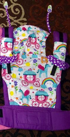 Canvas - PaxBaby Exclusive 'ONCE UPON A TULA 3' 'OUAT3' Tula Baby Carrier; Released August 2014