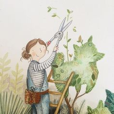 After some pruning and preening #thewholecaboodle is approved for print! #picturebook #april2016