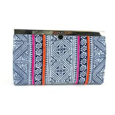Global Craft Indigo Ethnic Hmong Clutch - Global Groove (P) Hmong People, Northern Thailand, Fair Trade, Indigo, Ethnic, Best Gifts, Purses, Phone 7, Clutches