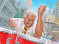 Remember, the King of Latin music, Tito Puente who would have been 90 years old today, 4/22 Latin Music Concert Tickets: http://www.ourcitytickets.com/Concerts/Latin