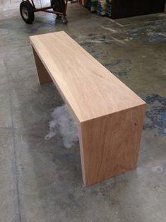 The Sharpe White Oak Bench Outdoor Furniture Plans, Timber Furniture, Cool Furniture, Oak Bench, Bench Seat, Woodworking Furniture, Woodworking Jointer, Woodworking Magazine, Woodworking Classes