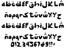 Alghorie Syawal font by Manifestoyz Arabic Style Font, Arabic Font, Arabic Calligraphy Art, Calligraphy Alphabet, Tattoo Lettering Fonts, Lettering Ideas, Typography, Neon Box, Graffiti Font