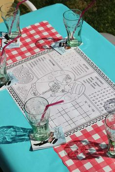 Retro Housewife Bridal/Wedding Shower Party Ideas   Photo 1 of 15   Catch My Party