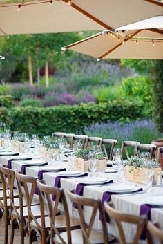 Garden Tablescape for a wine tasting party! #tablescape