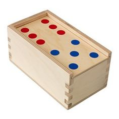 IKEA - LATTJO, Domino game, A fun and educational game that teaches your child to count and recognize patterns.