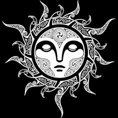 Sunna , SHE returns winter solstice Norse Tattoo, Celtic Tattoos, Viking Tattoos, Maori Tattoos, Tribal Tattoos, Borneo Tattoos, Irezumi Tattoos, Marquesan Tattoos, Sun Tattoos