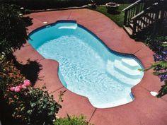 Freeport - http://calmwaterpools.com/inground-swimming-pool-designs-ideas/freeform-swimming-pools/freeport-fiberglass-pool/ has been published on Calm Water Pools Maryland, Washington DC, and Virginia inground fiberglass Viking swimming pools website