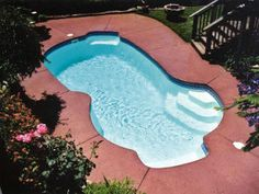Freeport - http://calmwaterpools.com/inground-swimming-pool-designs-ideas/freeform-swimming-pools/freeport-fiberglass-pool/ has been published on Calm Water Pools Maryland, Washington DC, and Virginia inground fiberglass Viking swimming pools website