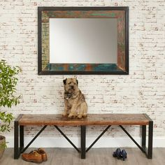 Are you interested in our wall mirror? With our rectangular mirror you need look no further.