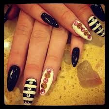 stiletto 3d nail art - Google Search