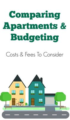 Apartment hunting? Be sure to check these cost and fee details into your overall apartment budget while you're searching for the perfect home to rent.