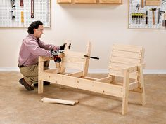 When you plan to invest in patio furniture you want to find some that speaks to you and that will last for awhile. Although teak patio furniture may be expensive its innate weather resistant qualit… Outdoor Furniture Plans, Diy Garden Furniture, Woodworking Furniture Plans, Wood Pallet Furniture, Diy Furniture Projects, Wooden Patio Chairs, Outdoor Chairs, Dining Chairs, Outdoor Lounge
