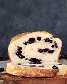 Blueberry Brioche Bread by Amanda Frederickson