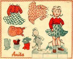 ANITA PAPER DOLL