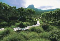 Cradle Mountain Huts Walk  Tasmania, Australia