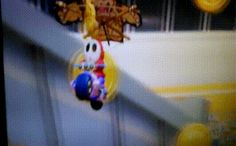 Too close for comfort #MarioKart