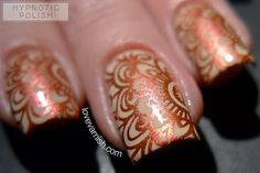 Pinned from www.lovevarnish.com Double Review - Hit The Bottle stamping polish http://www.lovevarnish.com/2015/06/hit-the-bottle-stamping-polish.html