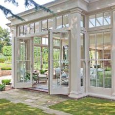 Vale Garden Houses: klasik tarz tarz Kış Bahçesi