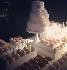 Wedding dessert table... With some treats by @CJ Caggia hopefully!