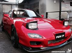Mazda RX-7 with front mount.