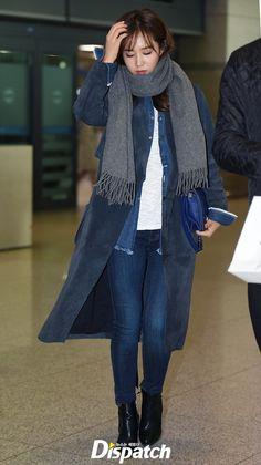 """Sooyoung, Seohyun (SNSD) đọ sắc """"sang chảnh"""" đối lập tại sân bay - Ảnh 10. Snsd Airport Fashion, Snsd Fashion, Seohyun, Yuri Girls Generation, Kwon Yuri, Kpop Outfits, Airport Style, Happiness, Street"""