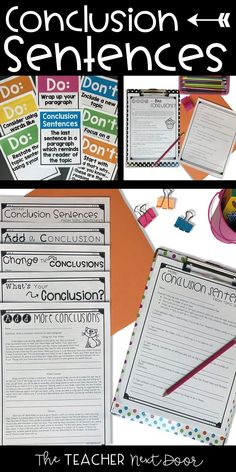 First sentence in writing a conclusion in an essay Dec 2017 · How to End an Essay. The conclusion is an. This wikiHow will teach you how to write a conclusion and, the main points in the first sentence of the conclusion? Teaching Paragraphs, Topic Sentences, Expository Writing, Paragraph Writing, Informational Writing, Teaching Writing, In Writing, Writing Activities, Writing Ideas
