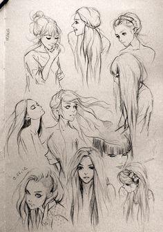 Sketches (¡Són preciosos!!!)