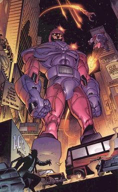 Sentinels are part of what make X-Men awesome. Not only do they have a deep roster of awesome villains, they also have giant robots!