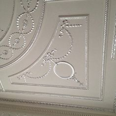 Plaster Ceiling Detail Another Tudor Pattern With Tudor Roses As