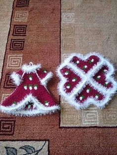 Crochet Flowers, Elsa, Christmas Sweaters, Diy And Crafts, Weaving, Embroidery, Knitting, Holiday Decor, Patterns