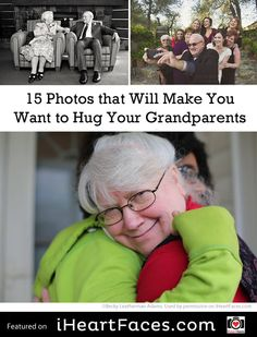 15 Photos that Will Make You Want to Hug Your Grandparents Photo Tips, Photo Ideas, Heart Face, Face Photography, Grandparents Day, Hug You, Photography Tutorials, Creative Inspiration, Family Photos