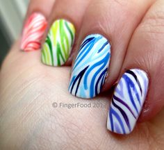 Reminds me of colored zebra strips