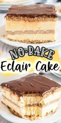 Easy No Bake Desserts, Easy Desserts, Dessert Recipes, French Desserts, Homemade Cake Recipes, Baking Recipes, Kid Recipes, Carrot Recipes, Family Recipes