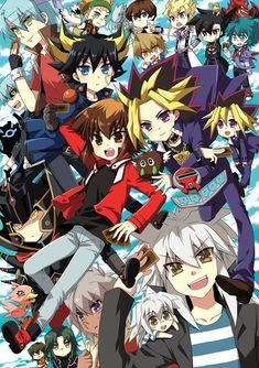 Cada día es un duelo y una nueva aventura      ~ Chibi ~  <3     ~ Yu-Gi-Oh  Series ~