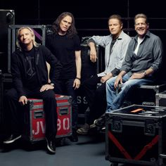 The Eagles ❤  The Four that are now the Eagles...Don, Glen, Joe & Timothy