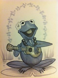 Yet another celebrity jumps on the ukulele bandwagon! Goodbye banjo!