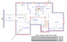 ts066-fflr.gif 1,283×805 pixels House Plans, Floor Plans, How To Plan, Houses, Homes, House Floor Plans, House, Computer Case, Floor Plan Drawing
