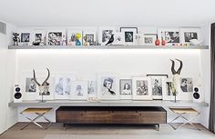 Minimalist Home Decor Ideas   StyleCaster .. nothing to distract from the photos