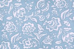 Robert Allen Madcap Cottage Rokeby Road Printed Cotton Drapery Fabric in Delft. This fabric may ship directly from Robert Allen. Please allow an extra 3 to 5 business days for delivery.  	  		Fiber Conten...