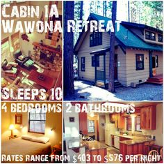 #Happy #Yosemite #CabinWednesday #Humpday #Cabin 1A #Wawona Retreat ~ Sleeps 10 4 Bedrooms 2 Bathrooms | Fully equipped kitchen, including a dishwasher | Fireplace | Gas BBQ | Satellite TV | DSL/WiFi | Current Special: 7th Night FREE!!!