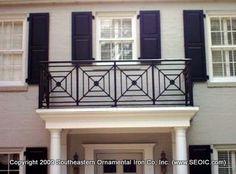 art deco porches | Commercial Railing-Decorative-Art Deco-Glass-Handicap-FDOT