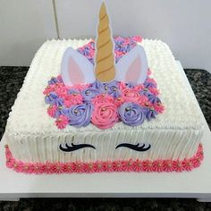 Chorizo cake fast and delicious - Clean Eating Snacks Unicorn Birthday Parties, Birthday Party Decorations, Birthday Cake, Birthday Ideas, Cold Cake, Unicorn Foods, Unicorn Cupcakes, Raspberry Smoothie, Cake Tins