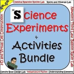 STEM Science Experiments and Activities Bundle by Eric's Elementary Resource Store  | Teachers Pay Teachers