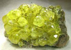 Sulfur Locality:  El Desierto mine, San Pablo de... - A love for minerals