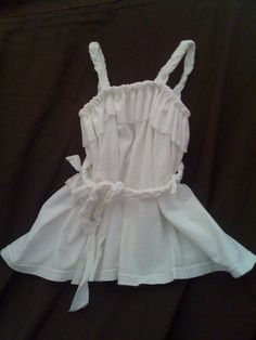 Upcycled T shirt Dress by SewLovelyThreads on Etsy, $10.00