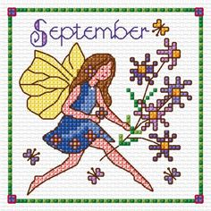 Birthday fairies September | Lesley Teare Thoughts on Design