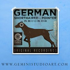 Hey, I found this really awesome Etsy listing at https://www.etsy.com/listing/103538262/german-shorthaired-pointer-records
