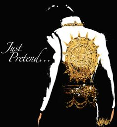 Just Pretend  - Elvis art by Joe Petruccio