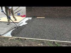 Gravel-Lok - Garden Path Installation - YouTube